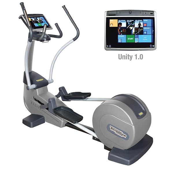 TechnoGym crosstrainer Excite+ Synchro 700 Unity black used  BBTGESY700UZW