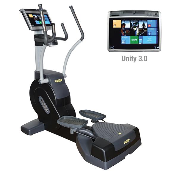 TechnoGym lateral trainer Excite+ Crossover 700 Unity 3.0 black used  BBTGEC7003UZW