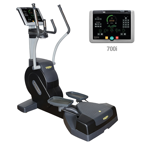 TechnoGym lateral trainer Crossover Excite+ 700i black used  BBTGCE700IZW