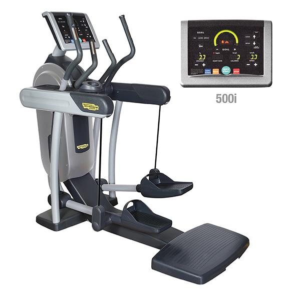 TechnoGym crosstrainer Vario Excite+ 500i silver used  BBTGVE500IZI