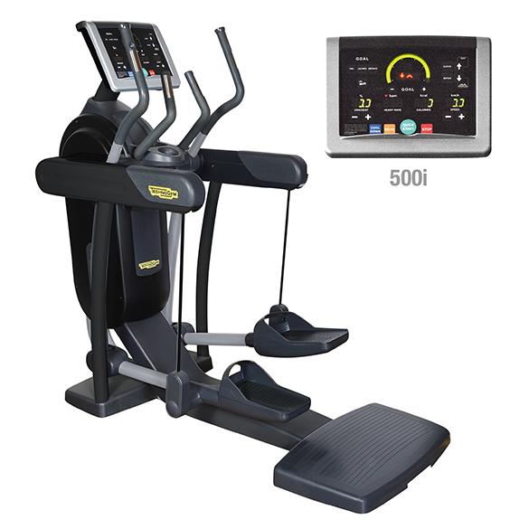 TechnoGym crosstrainer Vario Excite+ 500i black used  BBTGVE500IZW