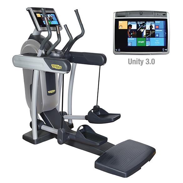 TechnoGym crosstrainer Excite+ Vario 700 Unity 3.0 silver used  BBTGEV700U3ZI