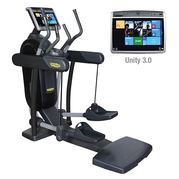 TechnoGym crosstrainer Excite+ Vario 700 Unity 3.0 black used  BBTGEV700U3ZW