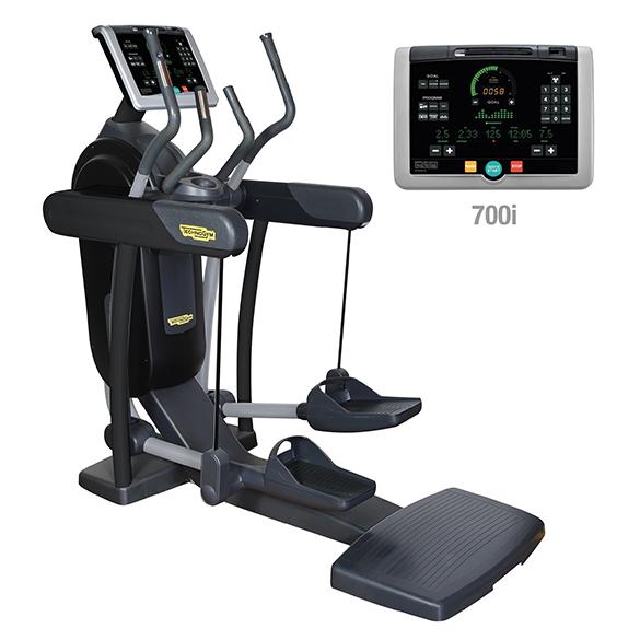 TechnoGym crosstrainer Vario Excite+ 700i black used  BBTGVE700IZW