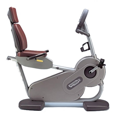 TechnoGym recumbent bike Recline Excite 700i classic silver used  BBTGRCE700IC