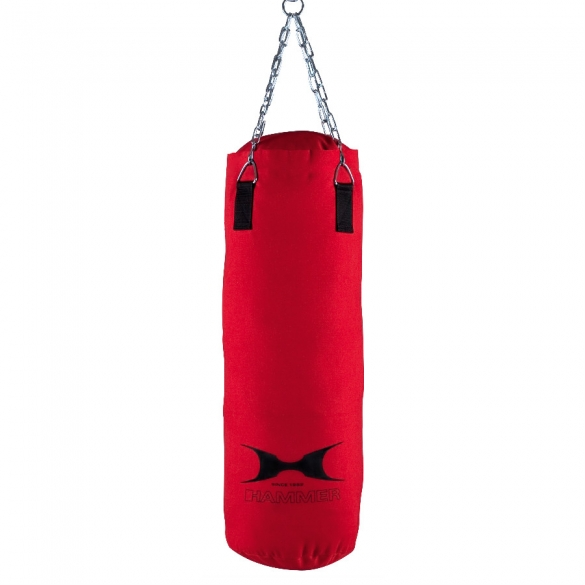 Hammer boxing bag canvas red 80 - 120 cm  H92408
