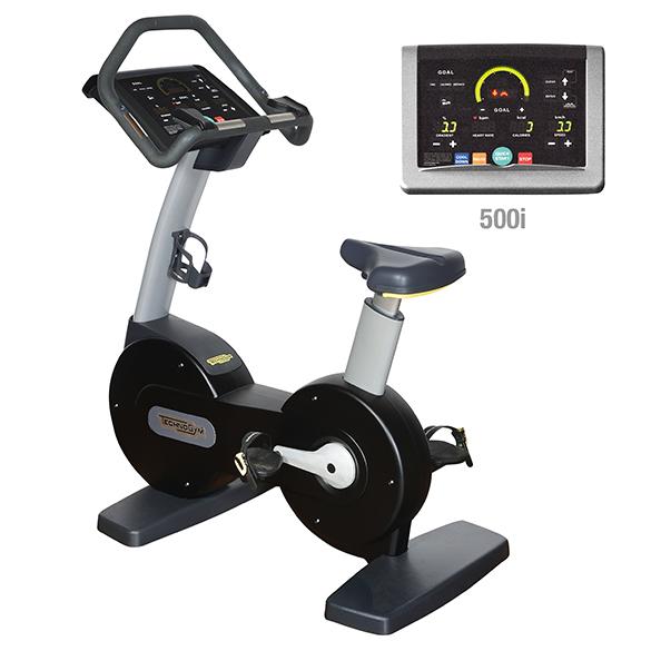 Technogym excercise Bike Excite+ 500i black used  BBTGNBE500IZW