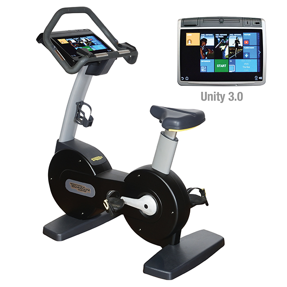 TechnoGym excercise bike Excite+ New Bike 700 Unity 3.0 black used  BBTGENB700U3ZW