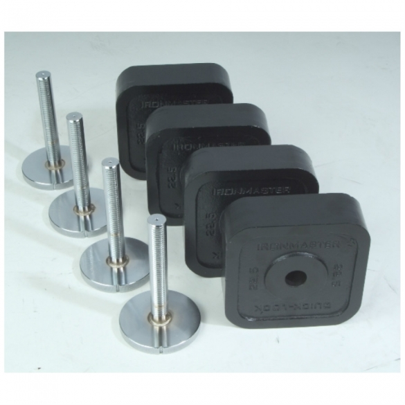 Ironmaster Adjustable Dumbbells Used: Ironmaster Add-On Kit 54,4 KG Online? Find It At Fitt24.com