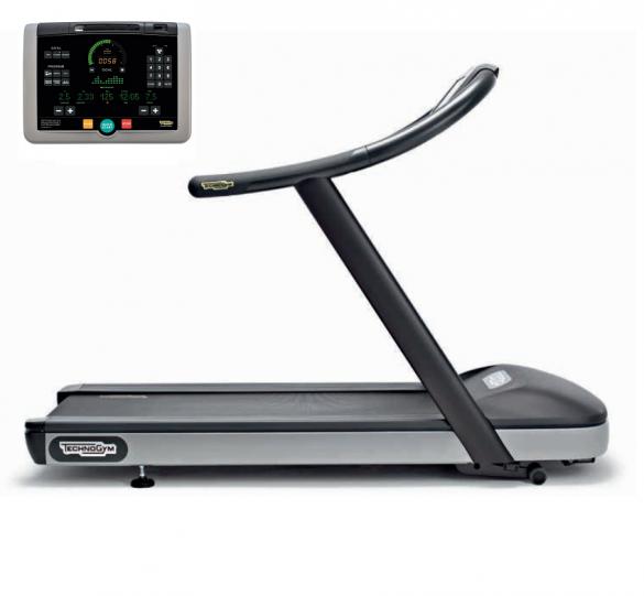 TechnoGym treadmill Jog Now Excite+ 700i black used  BBTGJNE700IZW