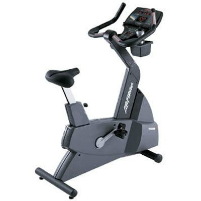 Life Fitness upright bike 9500HR Next generation used  BBLFBI9500HRNG