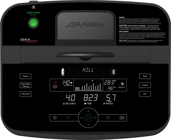 Life Fitness T5 Track connect console  HCT5-000X-0103