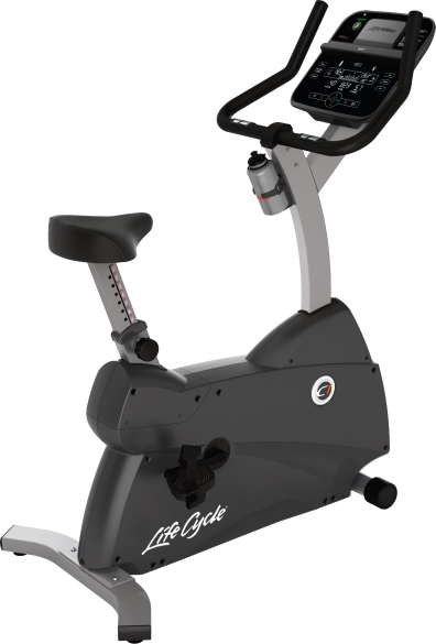 Life Fitness Exercise Bike LifeCycle C1 Track Connect Console used  C1-XX03-0104_HC-000X-0105/GEBR