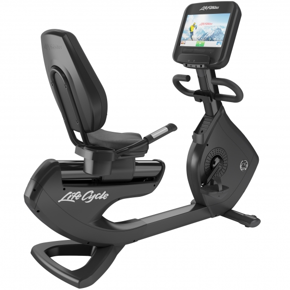 Life Fitness recumbent bike 95R Discover SE used  BBLFRB95RSE