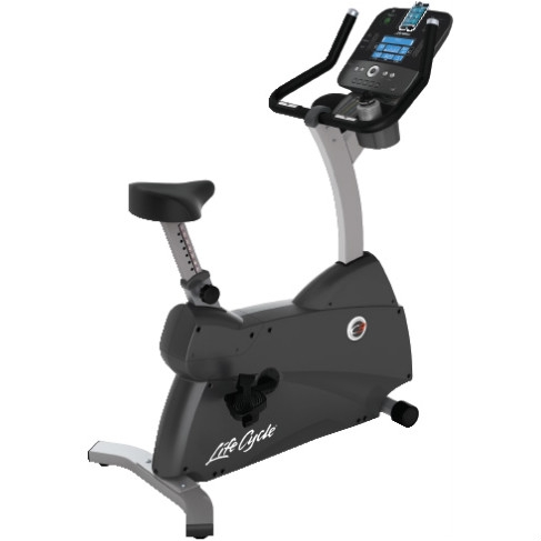 Life Fitness Exercise Bike LifeCycle C3 Track+ Console New LFHTC3TRACKCONS