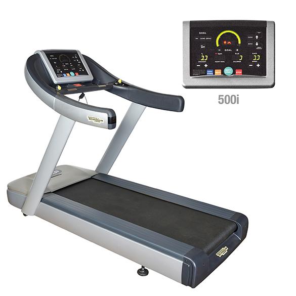 TechnoGym treadmill Run Now Excite+ 500i silver used  BBTGRNE500IZI