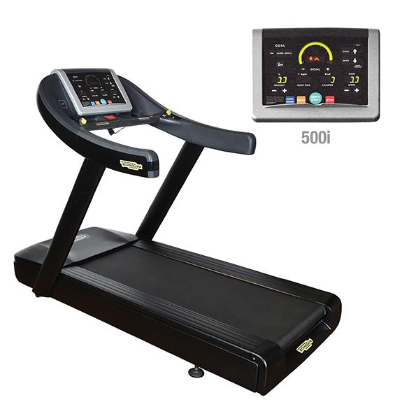 TechnoGym treadmill Run Now Excite+ 500i black used  BBTGRNE500IZW