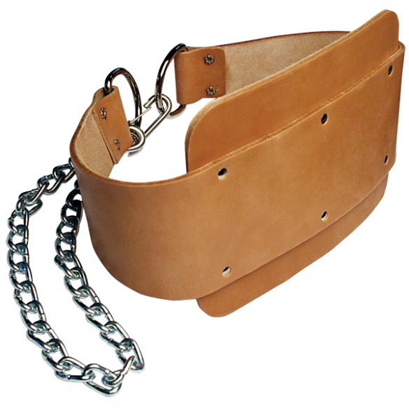 Body-Solid Leather dipping belt  MA307N