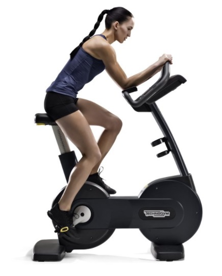 Technogym Excercise Bike Excite 700i Silver Used Online