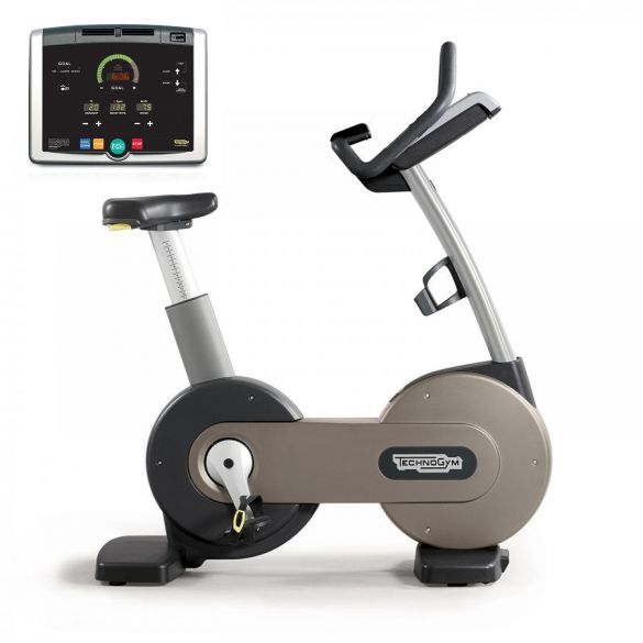 Technogym excercise Bike Excite+ 500i silver used  BBTGNBE500IZI