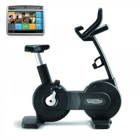 TechnoGym excercise bike Excite+ New Bike 700 Unity black used  BBTGENB700UZW