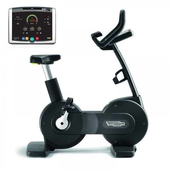 Technogym excercise Bike Excite+ 500i black used  BBTGNBE500IZW