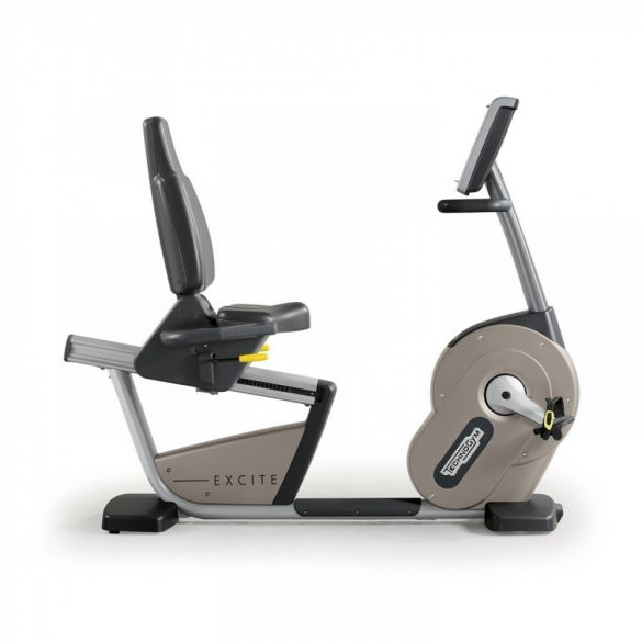 TechnoGym recumbent bike Recline Excite+ 500i silver used  BBTGNRE500IZI