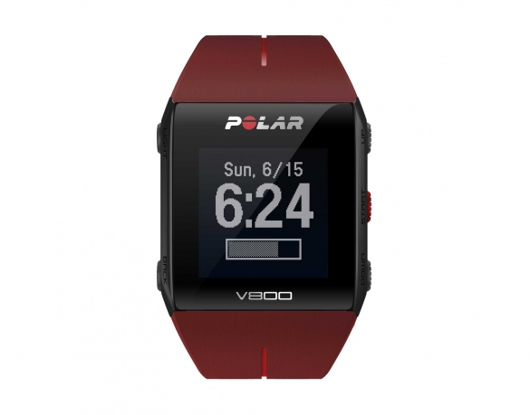 Polar V800 GPS sports watch with heart rate sensor red  PV800rood