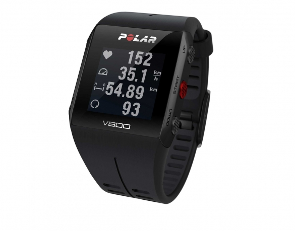 Polar V800 GPS sports watch with heart rate sensor black  PV800zwart