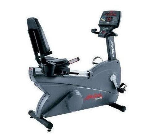 Life Fitness recumbent bike 9500HR Next generation used  BBLFRB9500HRNG