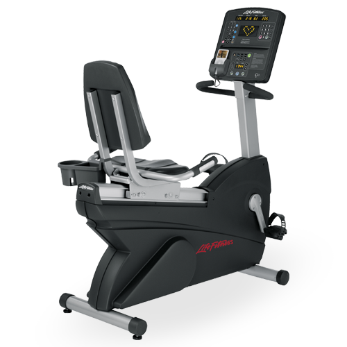 Life Fitness recumbent bike Integrity Series CLSR used  BBLFRBCLSR