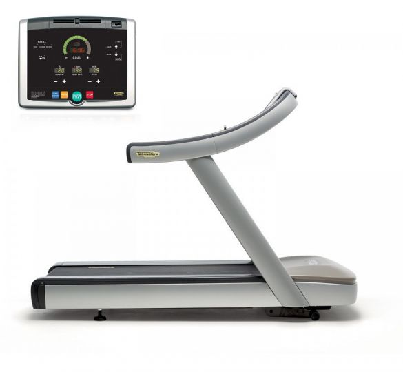 TechnoGym treadmill Run Now Excite+ 500i silver used  BBTGRNE500IZI
