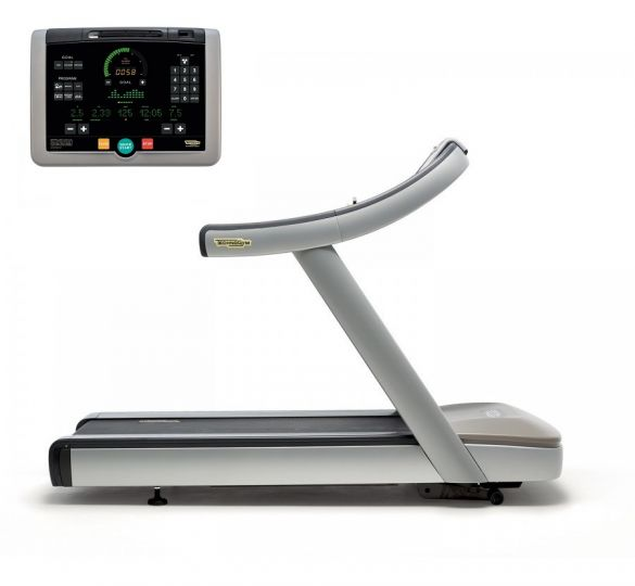 TechnoGym treadmill Run Now Excite+ 700i silver used  BBTGRNE700IZI