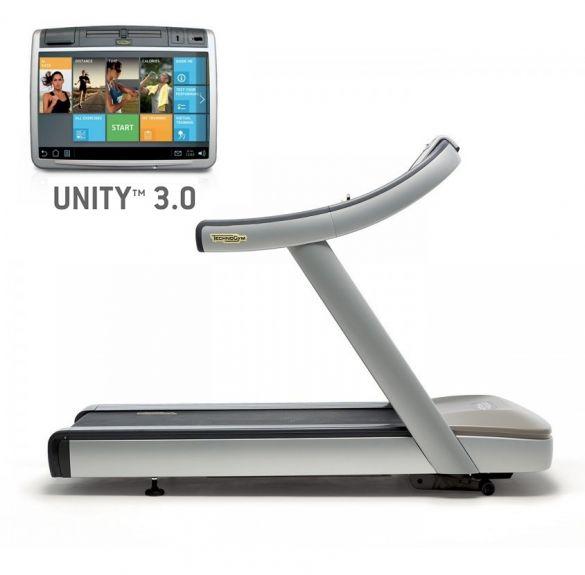 TechnoGym treadmill Excite+ Run Now 700 Unity 3.0 silver used  BBTGERN700U3ZI
