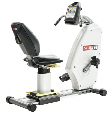 SciFit medical recumbent bike ISO7000R bi directional premium seat  ISO7014R‐INT