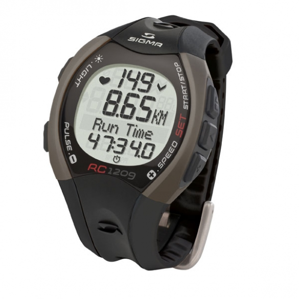 Sigma RC 1209 heart rate monitor black  THV033934
