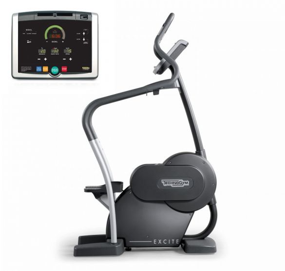 Technogym stepper Step Excite+ 500i black used  BBTGSTE500IZW