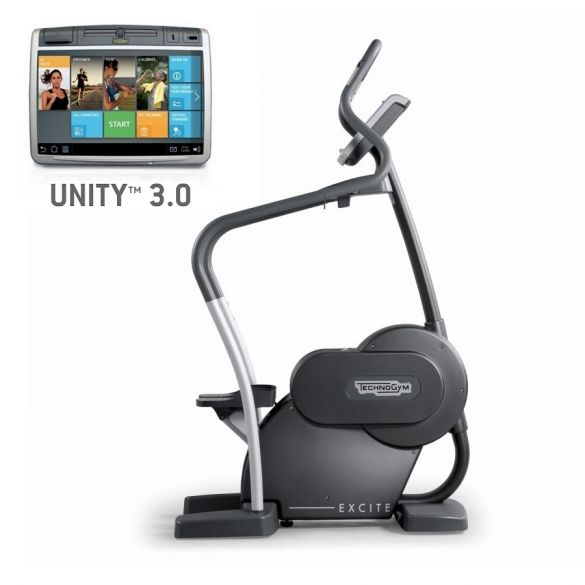 Technogym stepper Excite+ Step 700 Unity 3.0 black used  BBTGEST700U3ZW