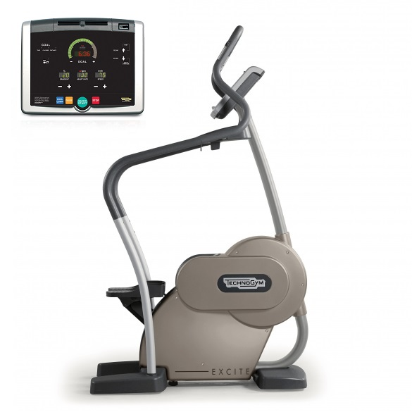 Technogym stepper Step Excite+ 500i silver used  BBTGSTE500IZI