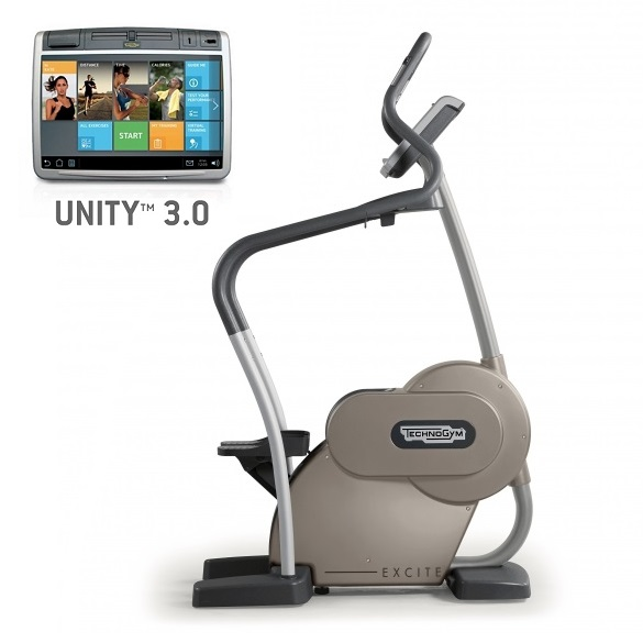 Technogym stepper Excite+ Step 700 Unity 3.0 silver used  BBTGEST700U3ZI