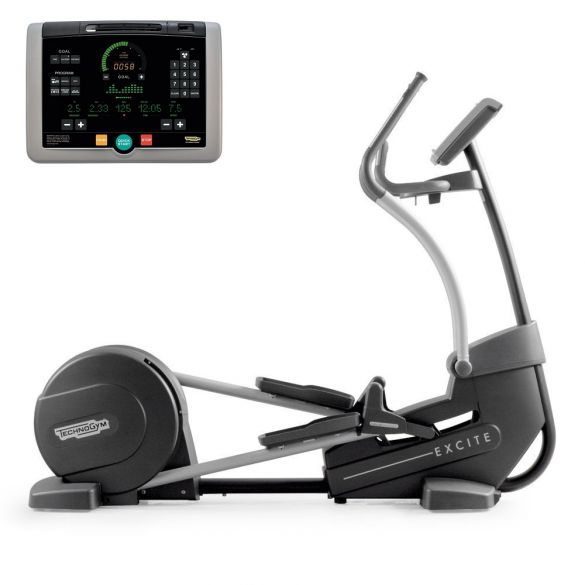 TechnoGym crosstrainer Synchro Excite+ 700i black used  BBTGSE700IZW
