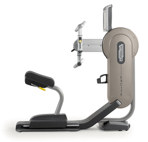 TechnoGym arm bike Top Excite+ 700i silver used  BBTGTE700IZI