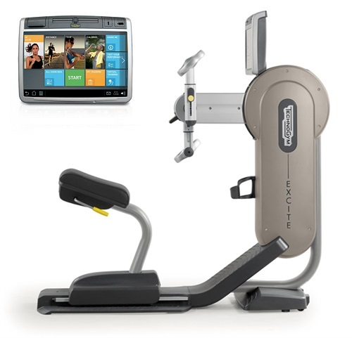 TechnoGym arm bike Excite+ Top 700 Unity silver used  BBTGET700UZI