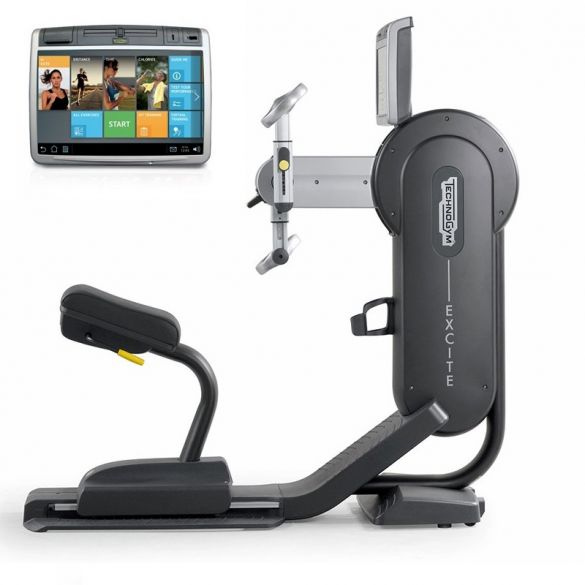TechnoGym arm bike Excite+ Top 700 Unity black used  BBTGEST700UZW