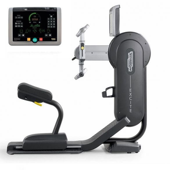 TechnoGym arm bike Top Excite+ 700i black used  BBTGTE700IZW