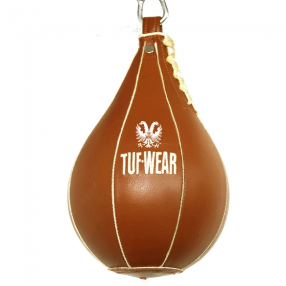 Tufwear speedbag brown leather classic  T81