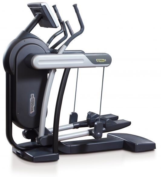 technogym crosstrainer vario excite 700 visioweb black. Black Bedroom Furniture Sets. Home Design Ideas
