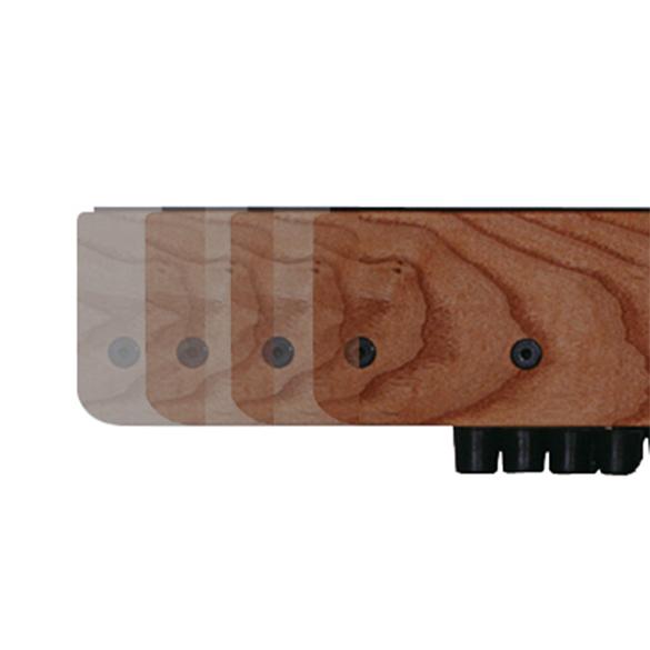 Waterrower XL rails club stained solid ash  OFWR0220XL/club