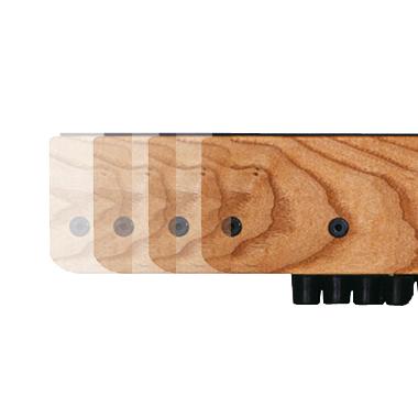 Waterrower XL rails classic walnut  OFWR0220XL/walnut