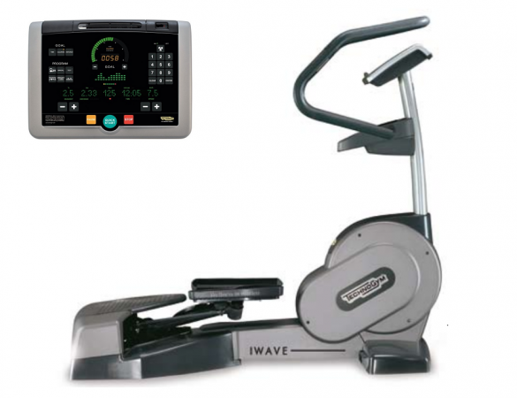 TechnoGym lateral trainer Wave Excite+ 700i silver used  BBTGWE700IZI